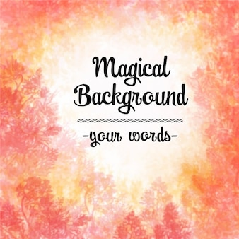 Magische achtergrond