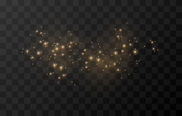 Magische gloed sprankelend licht sprankelend sprankelend sprankelend stof png sprankelend magisch stof kerstlicht