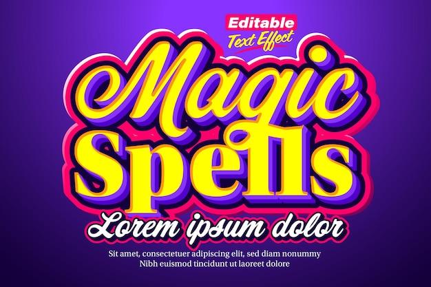 Magische spreuken middeleeuws en magisch teksteffect