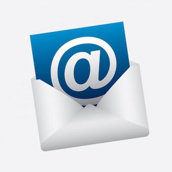 Mail illustratie