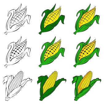 Maïs vector set