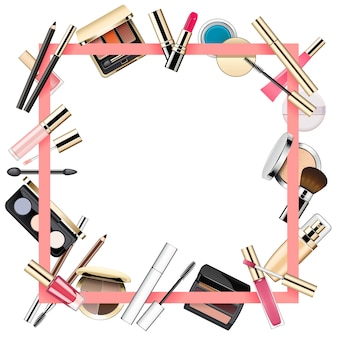 Make-up frame