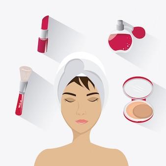 Make-up ontwerp.