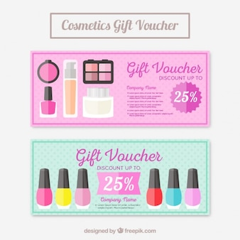 Make-up producten coupons