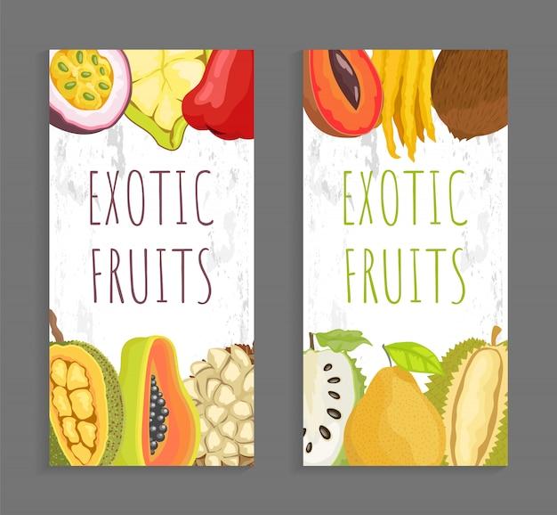 Mamey citron, sugar apple, pomelo. exotisch fruit