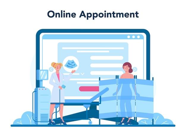 Mammoloog online service of platform