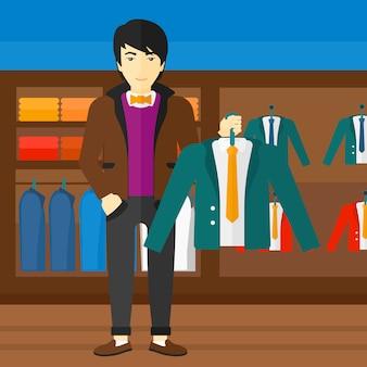 Man bedrijf jas.