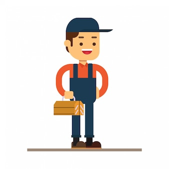 Man karakter avatar pictogram