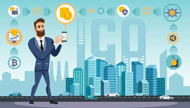Man maakt gebruik van crypto valuta-technologieën
