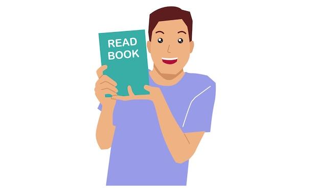 Man met een boek