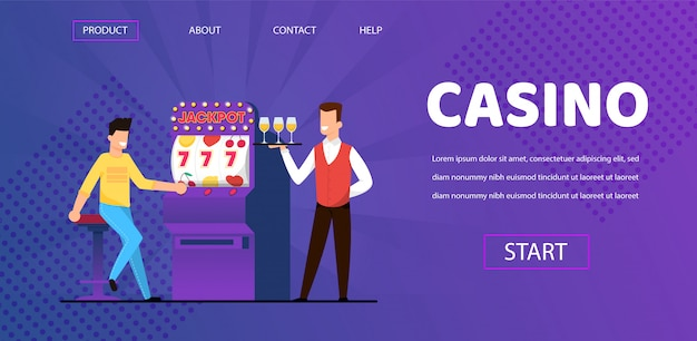 Man win jackpot bij casino ober met champagne