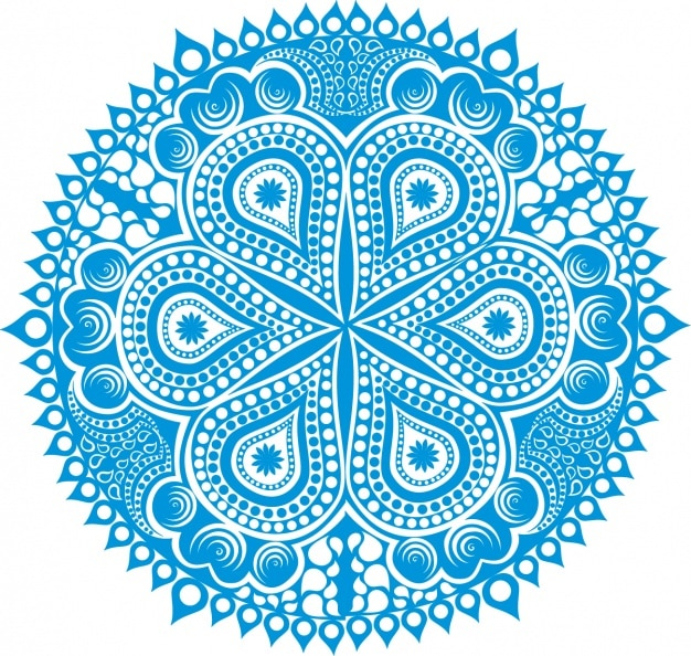 Mandala achtergrond ontwerp