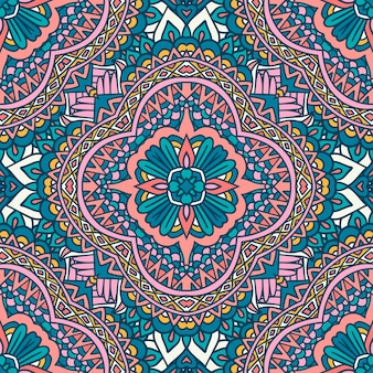 Mandala arabesque naadloze patroon