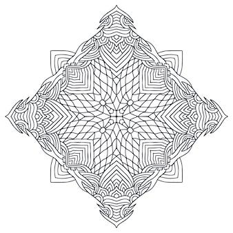 Mandala art design