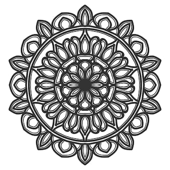 Mandala bloem illustratie ontwerp vector