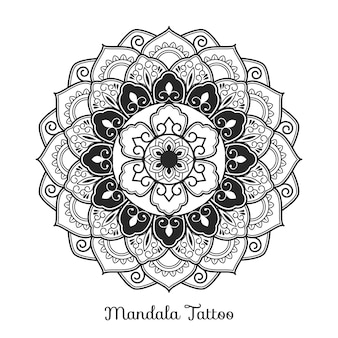 Mandala decoratief ornament ontwerp