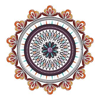 Mandala decoratief pictogram