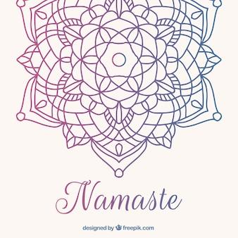Mandala decoratieve achtergrond