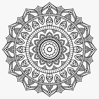 Mandala design premium