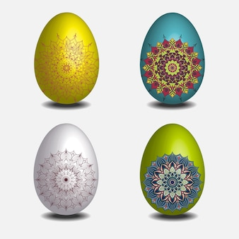 Mandala easter egg-collectie