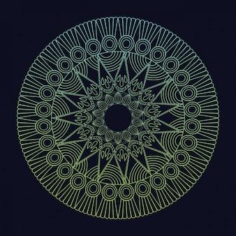 Mandala element spirituele harmonie tribal