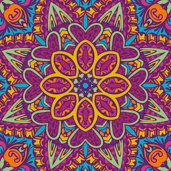 Mandala festival kunst naadloos patroon