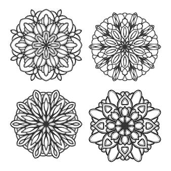 Mandala illustratie
