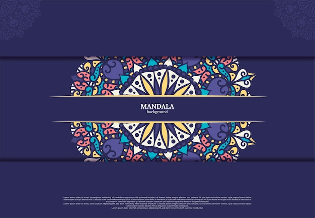 Mandala illustratie