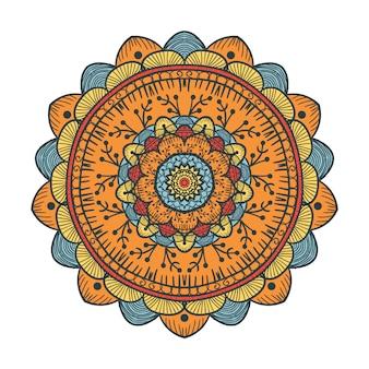 Mandala-lijnsjabloon