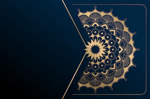 Mandala luxe achtergrond