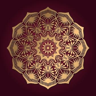 Mandala luxe afbeelding ontwerp