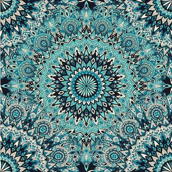 Mandala naadloos patroon. vintage ontwerp voor afdrukken.