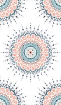 Mandala naadloos patroon