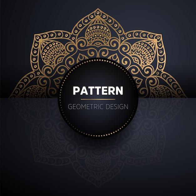 Mandala naadloze patroon. vintage decoratieve elementen patroon