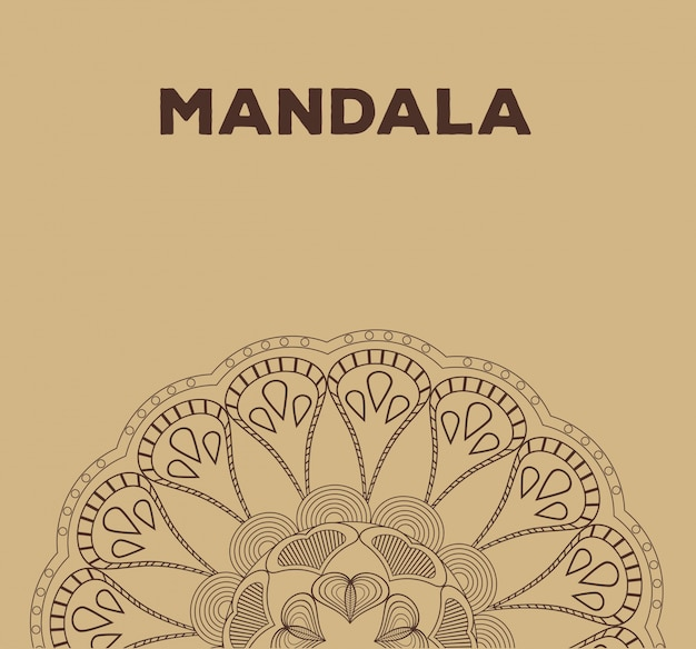 Mandala ontspanning boeddhisme klassieke poster