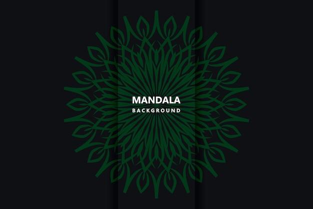 Mandala-ontwerp premium vector
