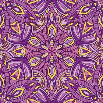 Mandala-ontwerp voor afdrukken. tribal ornament.