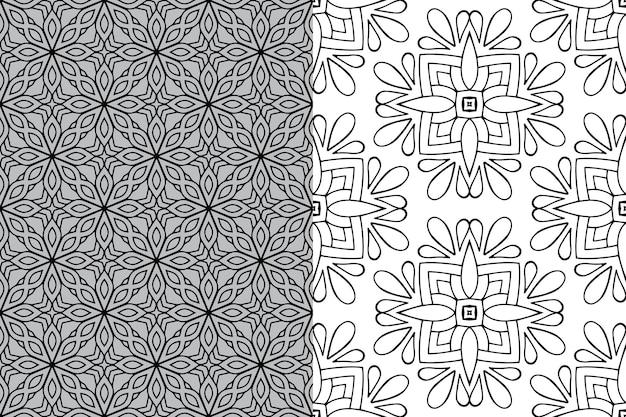Mandala ornament patroon. vintage decoratieve elementen