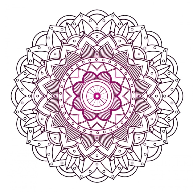 Mandala patronen