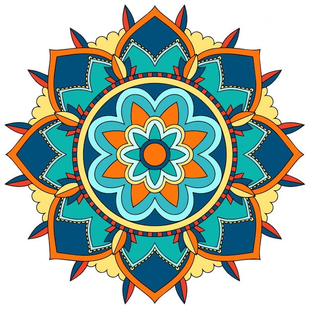 Mandala patroon