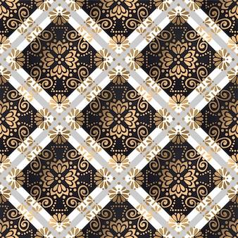 Mandala's naadloos patroon