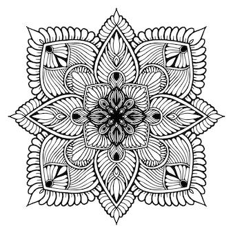 Mandala's voor het kleuren van boek. oosterse vector, antistress-therapiepatronen. yoga logo's vec