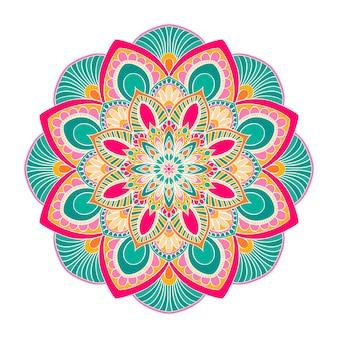 Mandala sieraad. vintage decoratieve elementen.