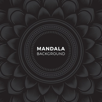 Mandala tattoo art achtergrond