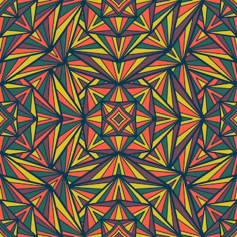 Mandala vector naadloos patroon. tribal sieraad.