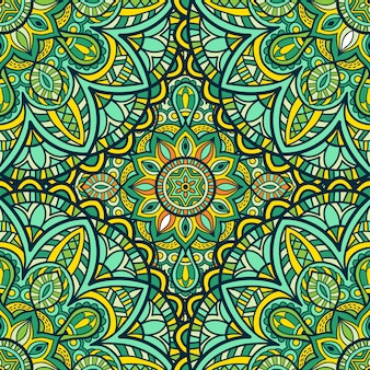 Mandala vector ornament patroon