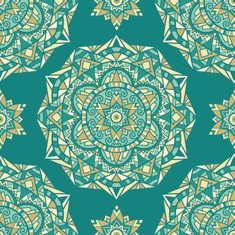 Mandala vectorontwerp voor afdrukken. tribal ornament.