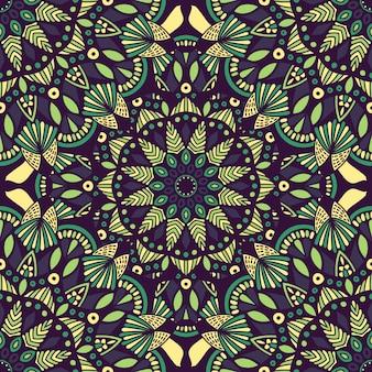 Mandala vintage ontwerp voor afdrukken. tribal ornament.