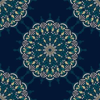 Mandala vintage ontwerp voor afdrukken. tribal sieraad.