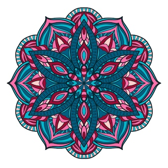 Mandala vintage ontwerp voor afdrukken